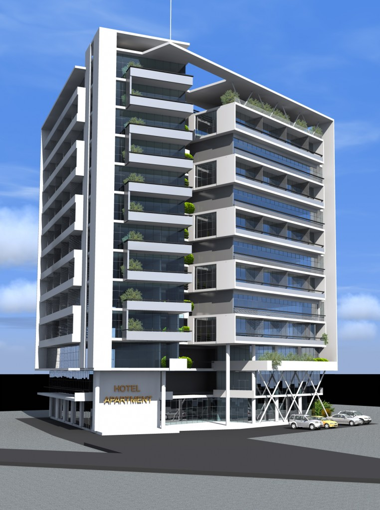 Memo apartment hotel fabb partners for Design hotel juist